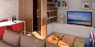 Come creare una zona d'ingresso nel soggiorno