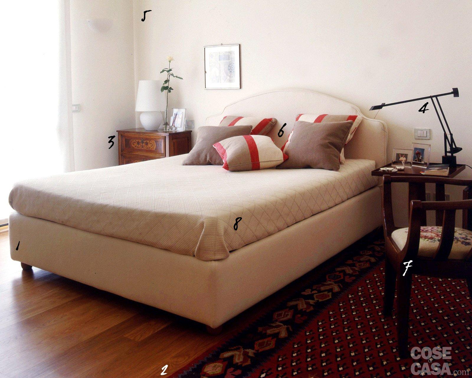 Camera da letto classica ma contemporanea cose di casa for Lampadario camera da letto contemporanea