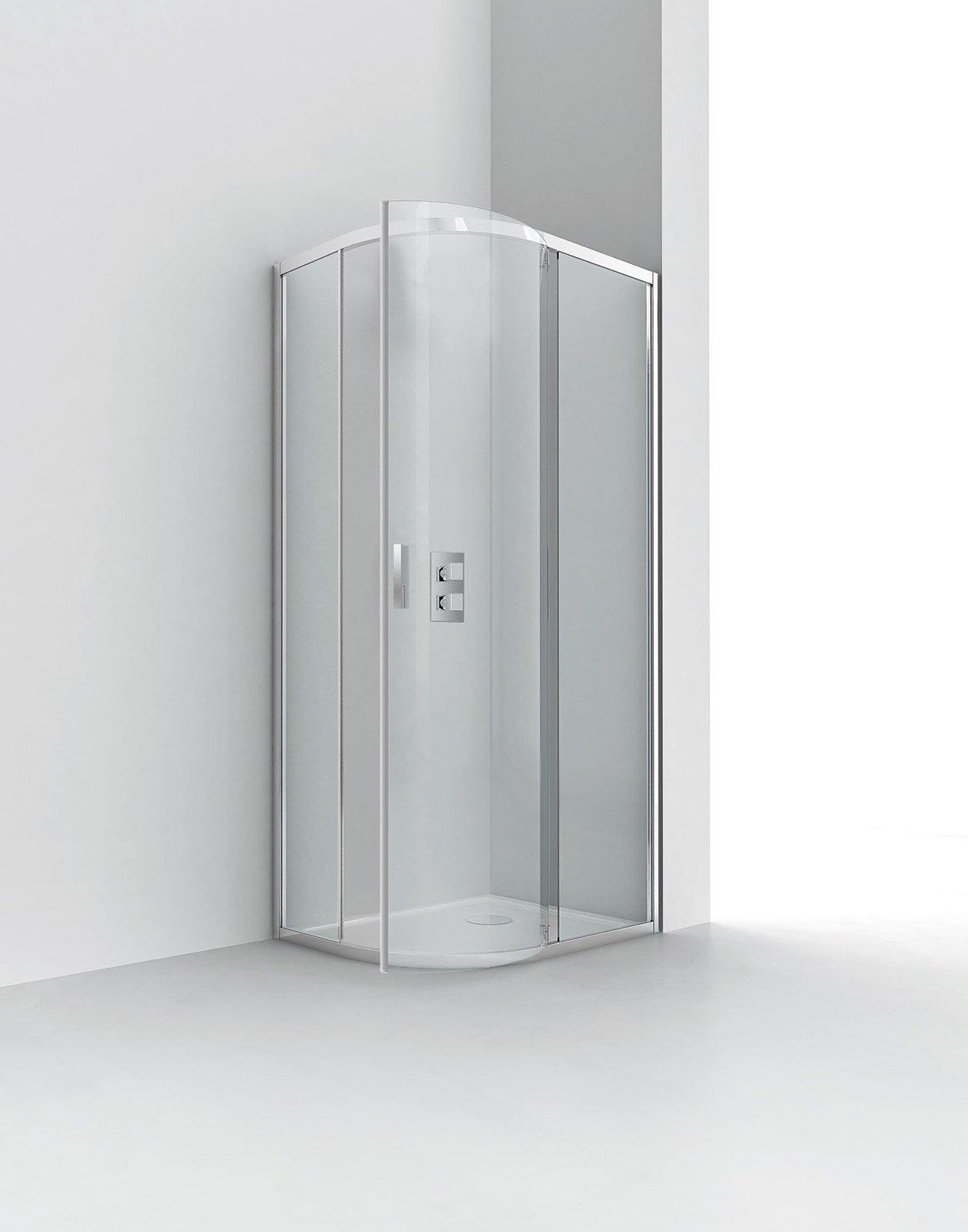 scegliere il box doccia - cose di casa - Box Doccia Cristallo Cesana Prezzi