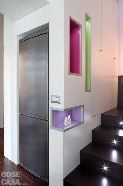 Una casa di 40 mq monolocale con cucina separata cose - Cucina incassata ...