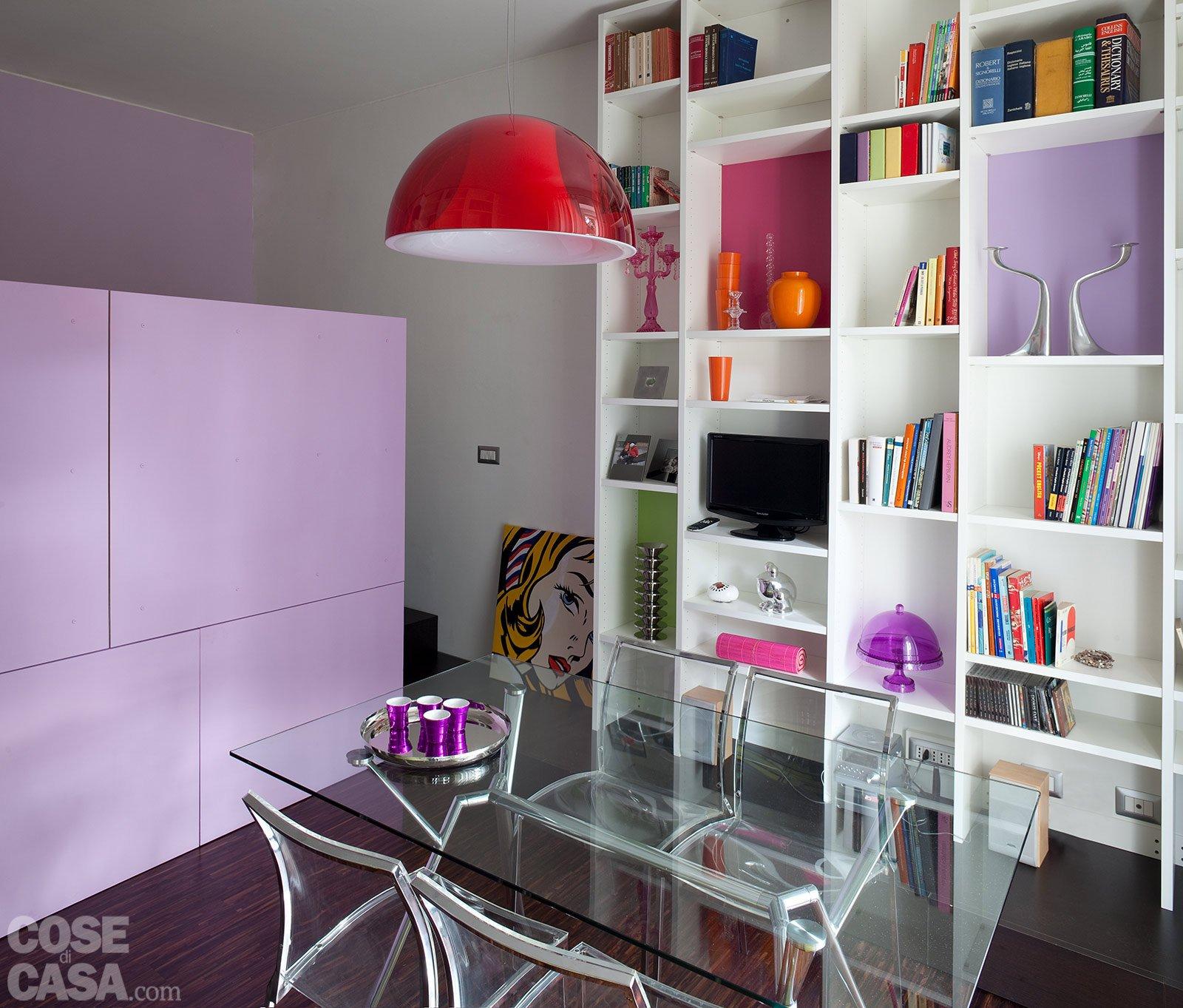 Una casa di 40 mq monolocale con cucina separata cose di casa - Idee salvaspazio casa ...