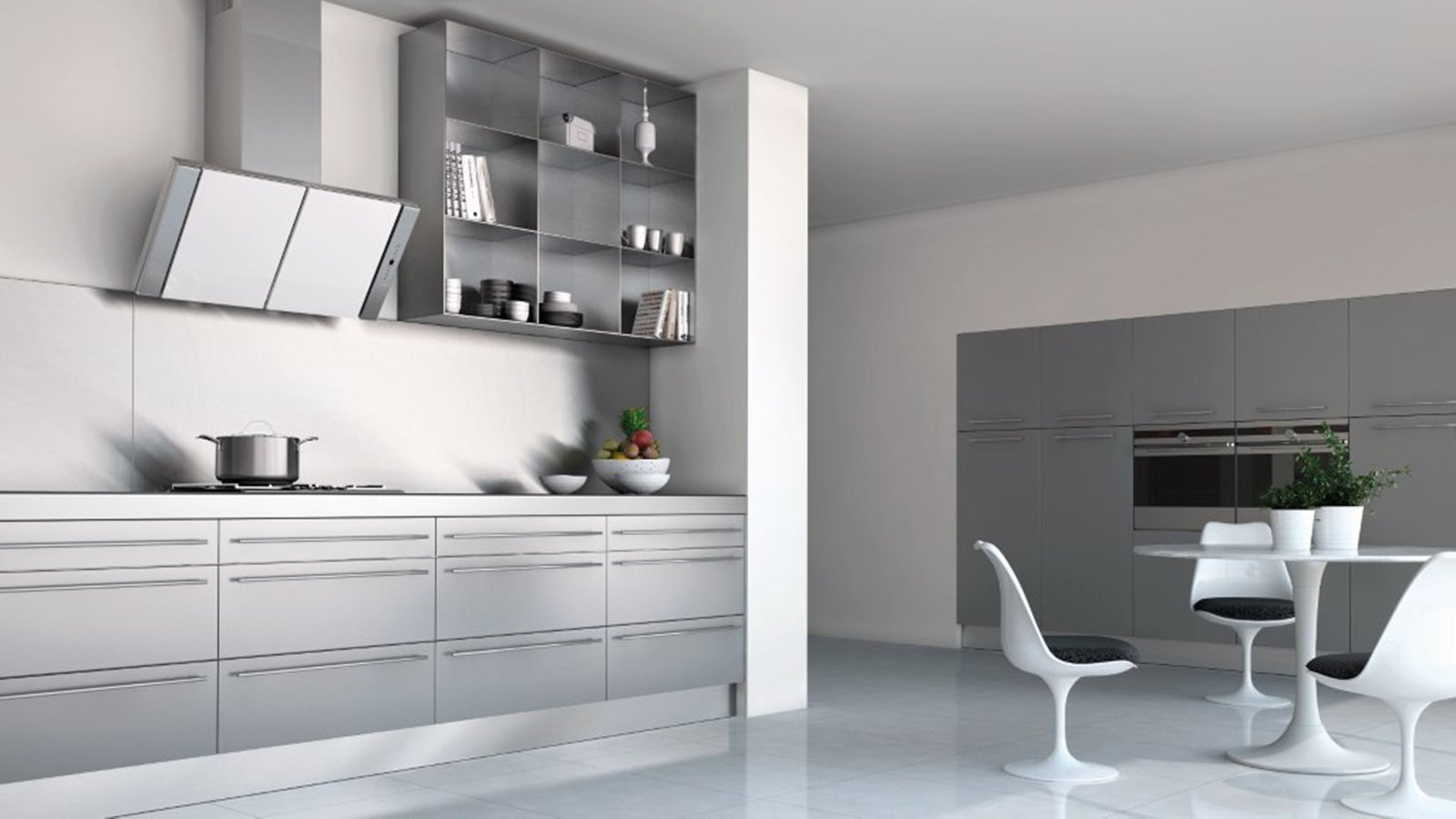 Cappe cucine moderne cappe w with cappe cucine moderne for Cappa sospesa per isola