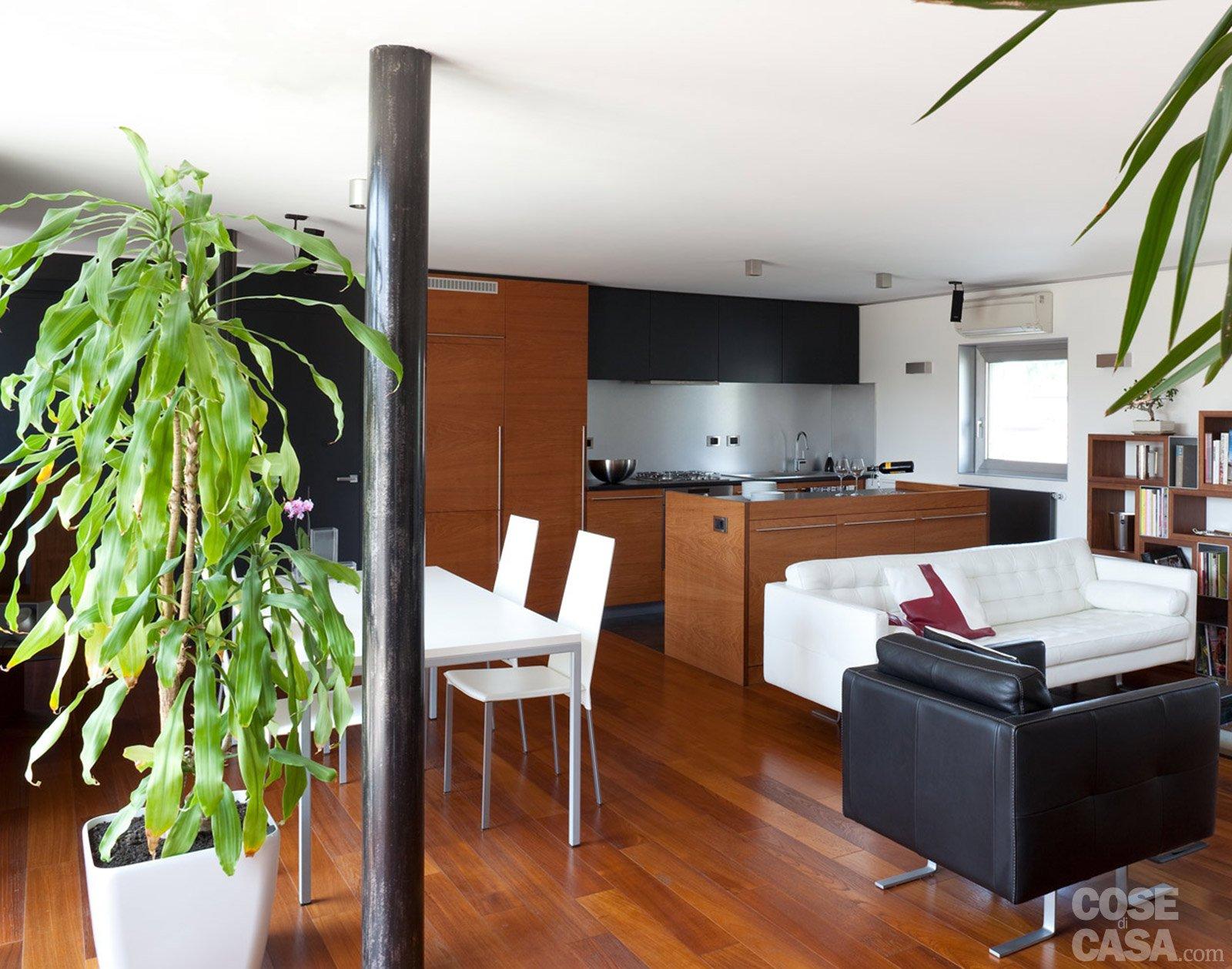 80 mq una casa per due perfetta per fare inviti cose - Progetto casa 80 mq ...