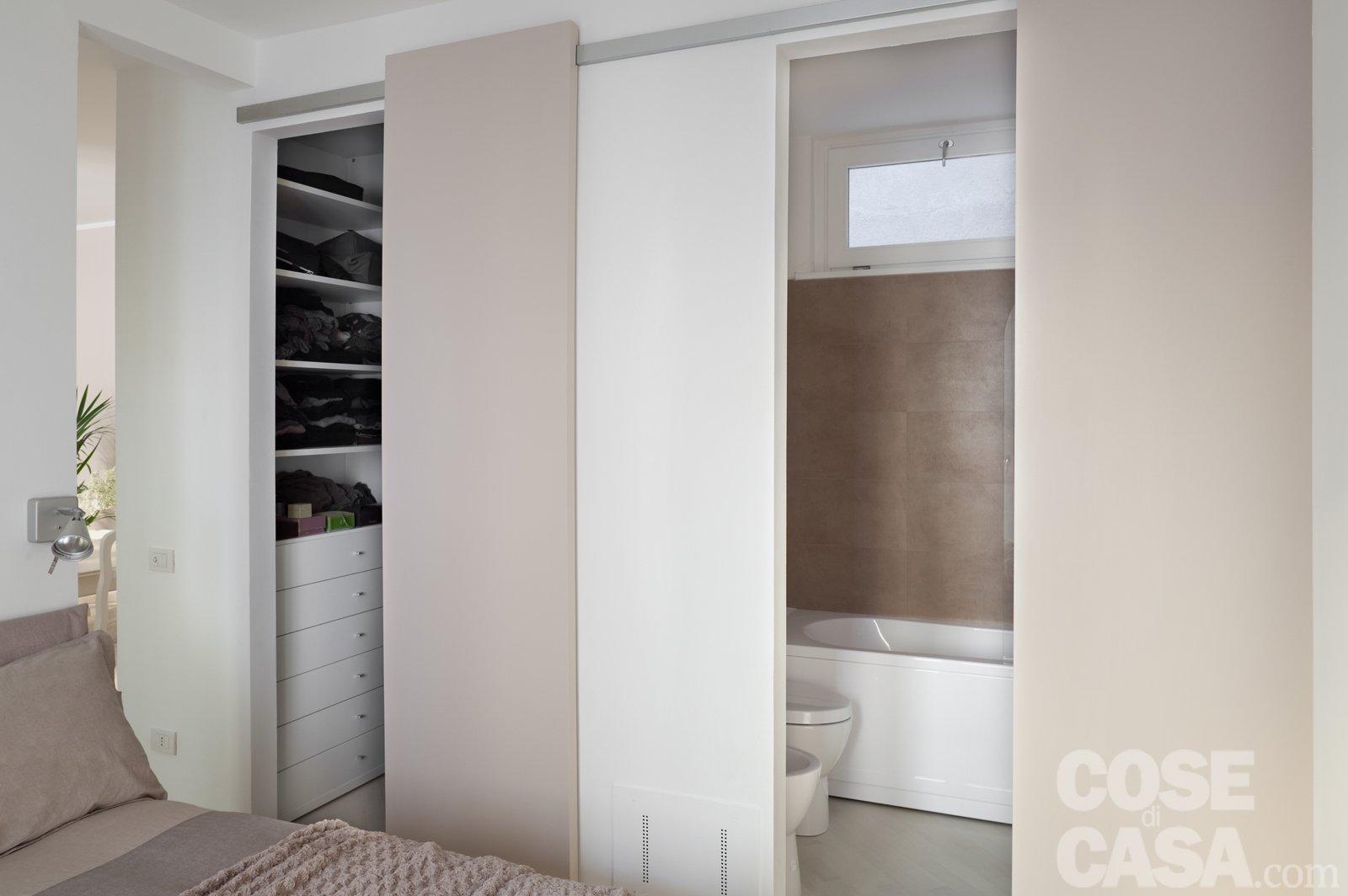 camera da letto con bagno e cabina armadio: cabina armadio ottima ... - Cabina Armadio Camera Da Letto