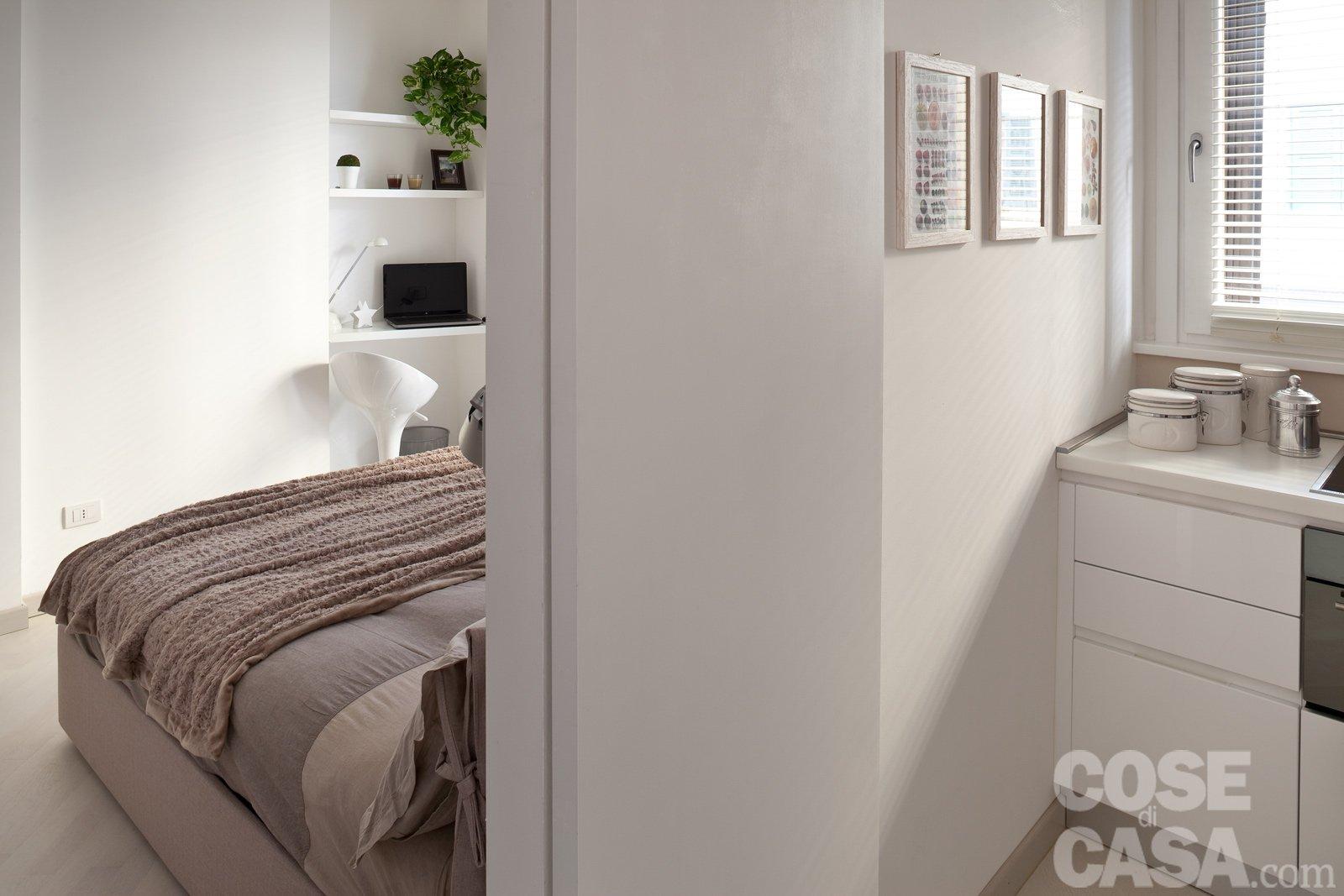 44 mq: una stanza in più in casa - cose di casa - Creare Una Zona Studio In Soggiorno 2