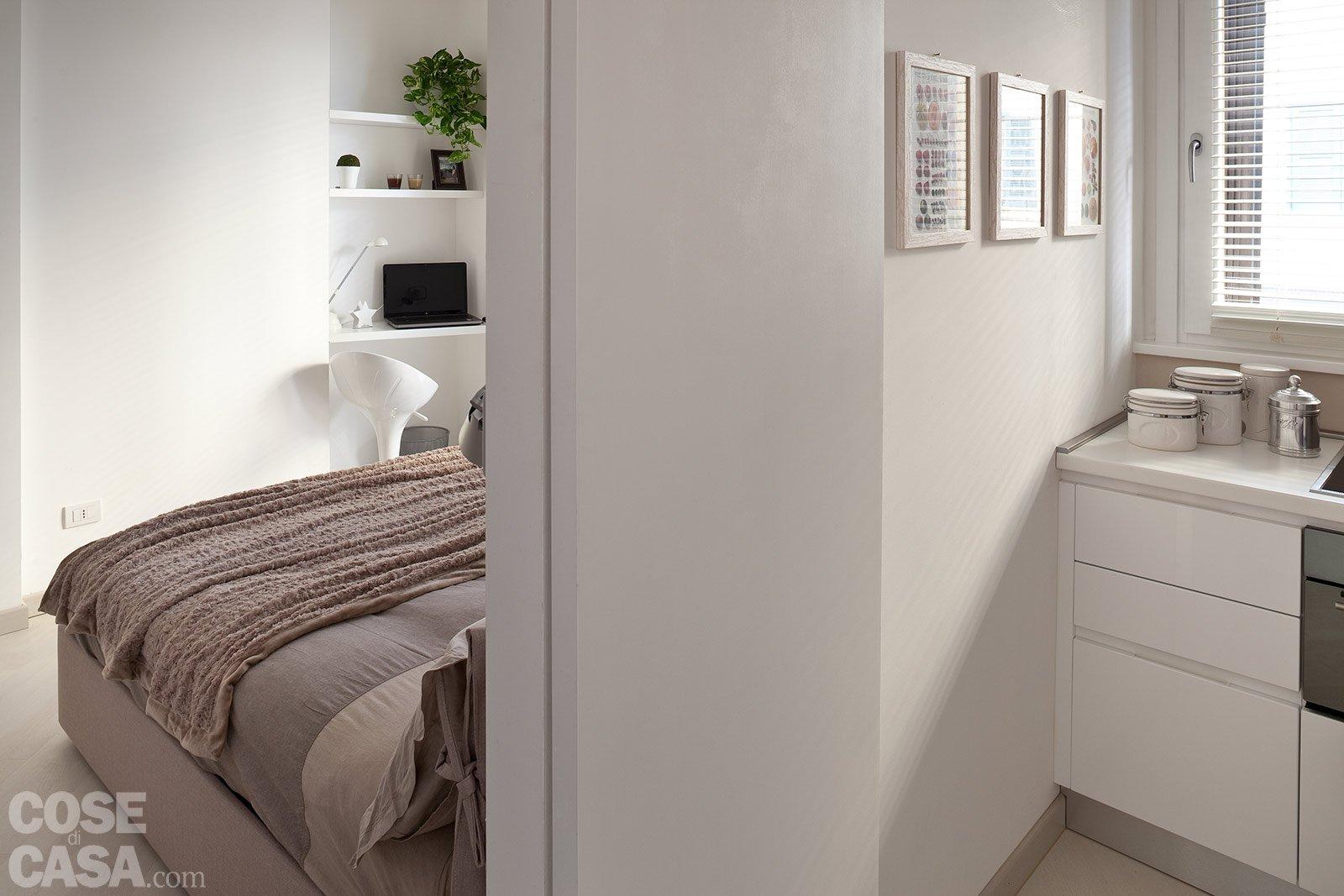 44 mq una stanza in pi in casa cose di casa for Monolocale con 1 camera da letto