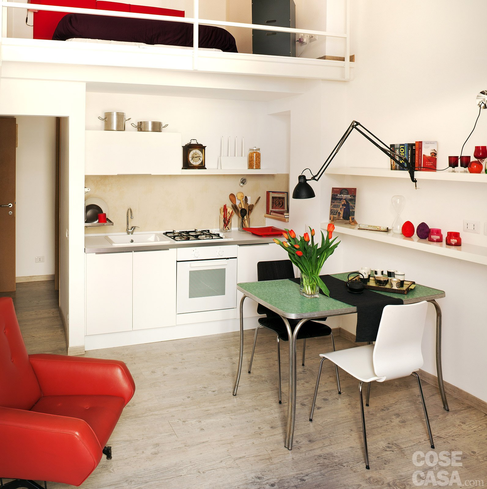 Una Casa Che Punta Al Risparmio Cose Di Casa #AE231D 1592 1600 Mobiletti Cucina Leroy Merlin