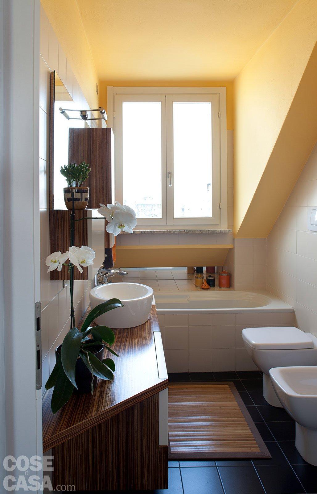 95 mq una casa con nuovi ambienti in verticale cose di casa - Davanzali interni ...