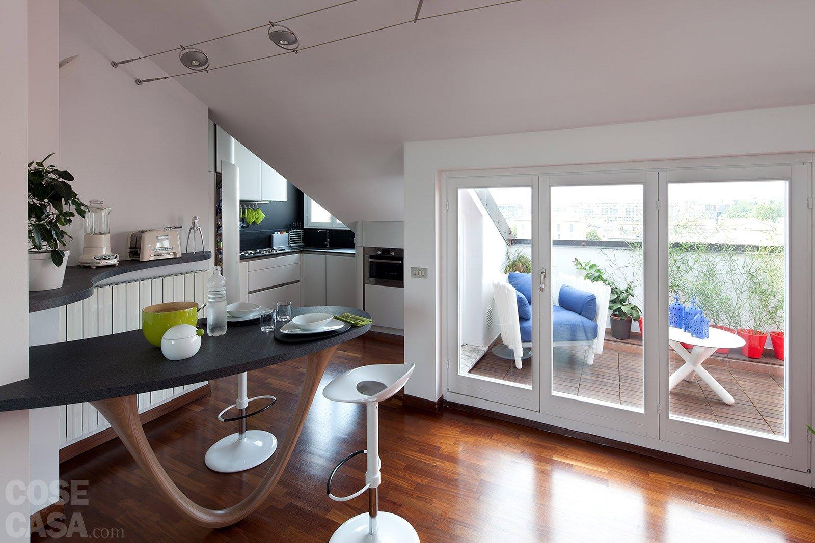 Casabook Immobiliare: 95 mq: una casa con nuovi ambienti in verticale