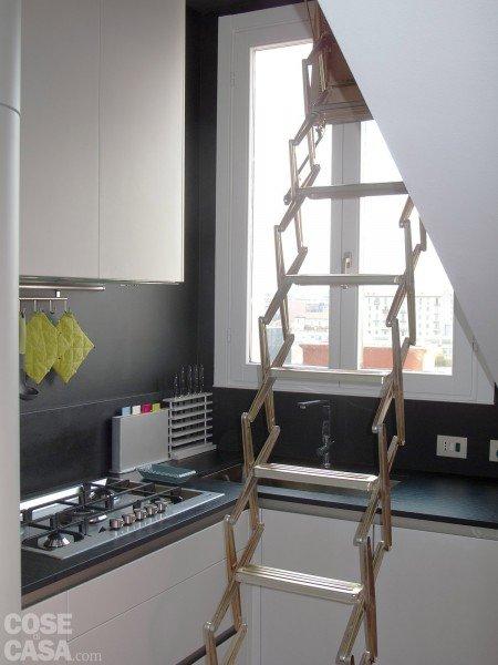 95 mq una casa con nuovi ambienti in verticale cose di casa - Apertura vano in muratura portante intervento locale ...