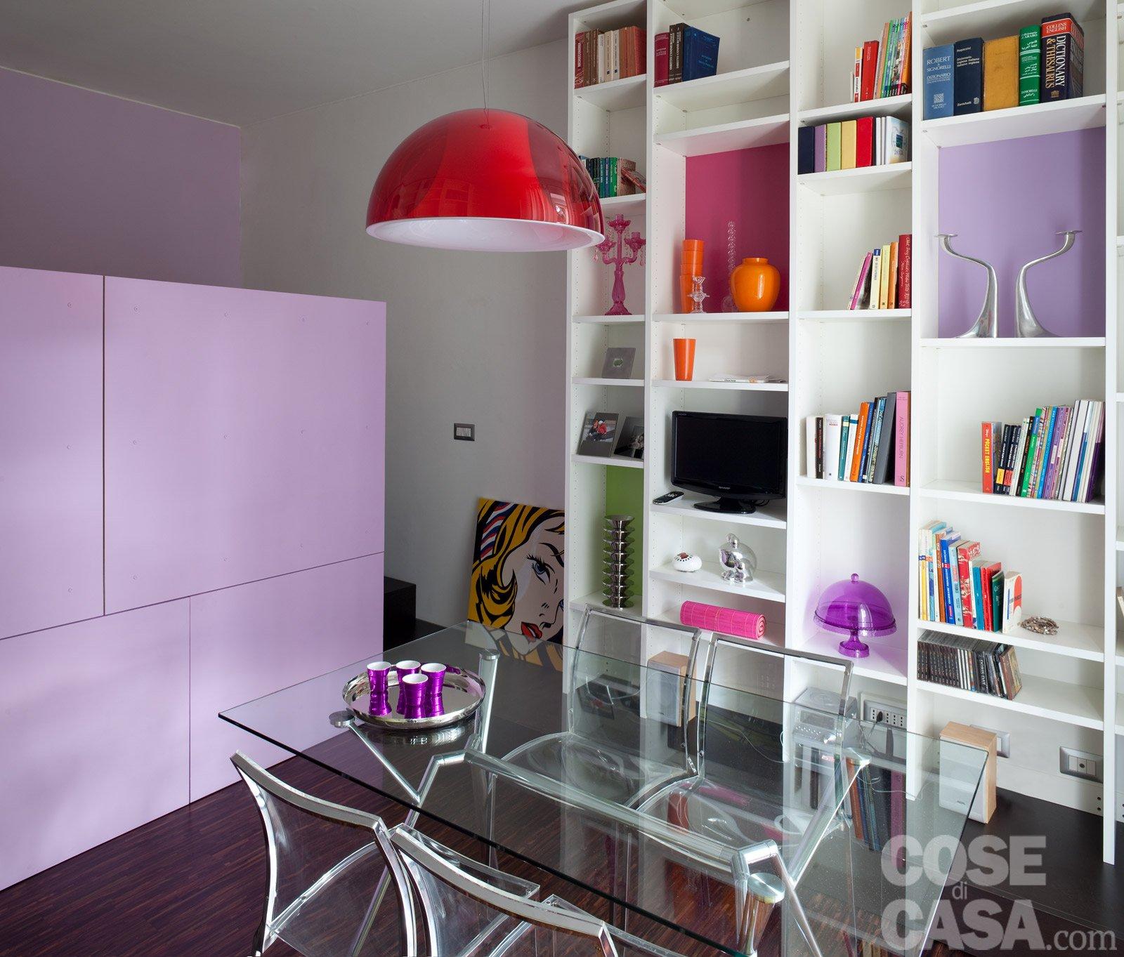 Una Casa Di 40 Mq: Monolocale Con Cucina Separata Cose Di Casa #AC211F 1600 1363 Come Arredare Una Cucina Soggiorno Di 40 Mq