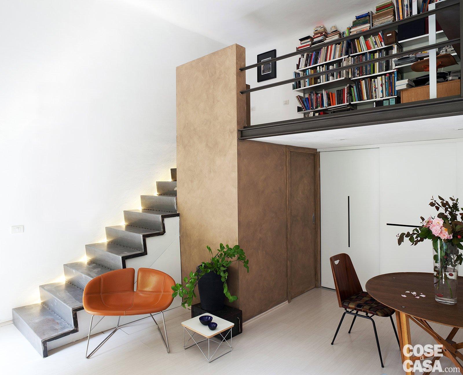 Monolocale: Una Casa Di 30 Mq Risolta Al Centimetro Cose Di Casa #9C592F 1600 1297 Come Arredare Una Cucina Soggiorno Di 40 Mq