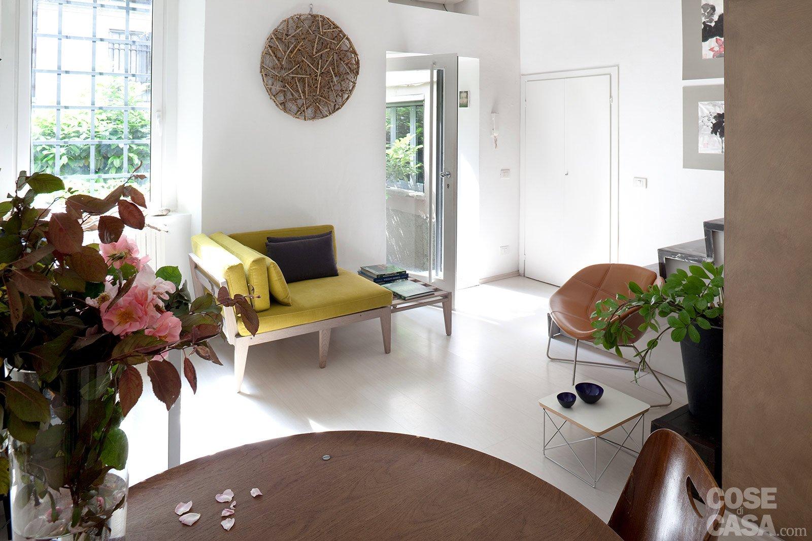Monolocale: Una Casa Di 30 Mq Risolta Al Centimetro Cose Di Casa #475E22 1600 1067 Arredare Cucina Soggiorno Di 30 Mq