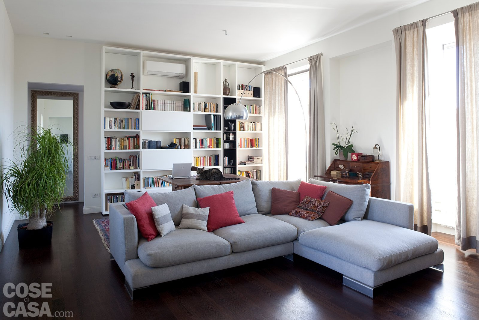 Casa 14 mq in pi per il bilocale cose di casa for Disegni di casa italiana moderna