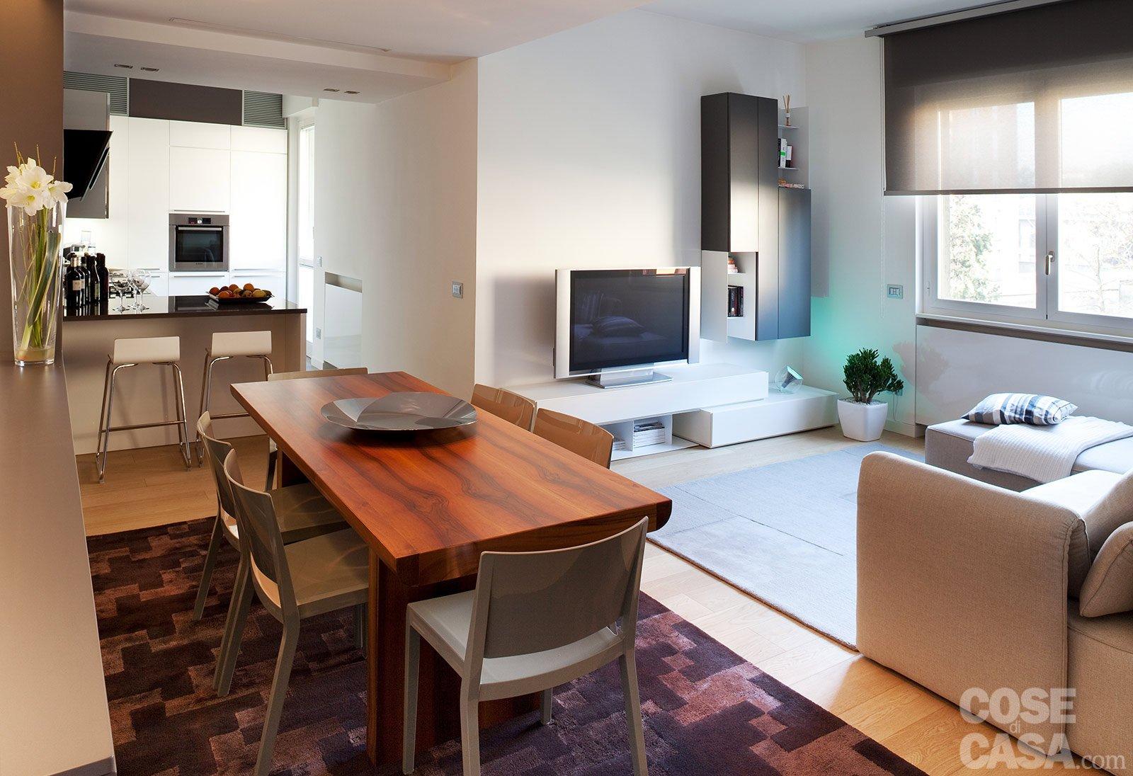 Una casa con soffitti che definiscono le funzioni cose - Camera soggiorno ...