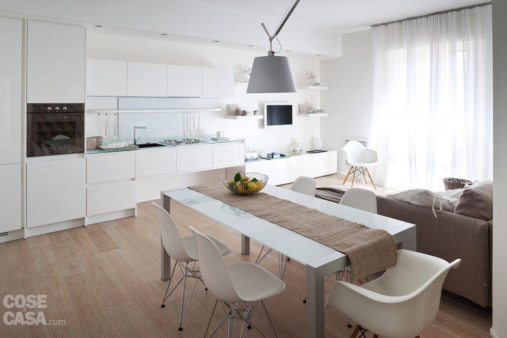 75 mq 10 idee per far sembrare pi grande la casa cose for Arredare casa in bianco