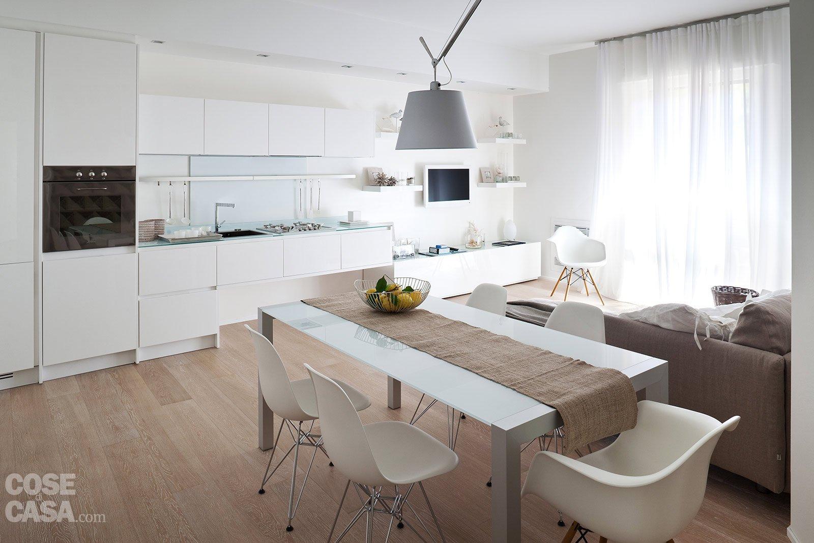 75 mq 10 idee per far sembrare pi grande la casa cose for Disegni di casa piano aperto