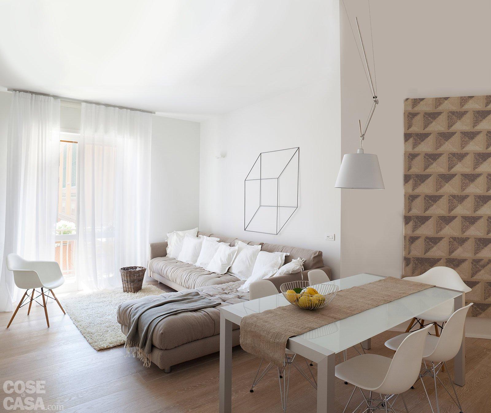 75 Mq: 10 Idee Per Far Sembrare Più Grande La Casa Cose Di Casa #634C3E 1600 1346 Come Disporre Il Tavolo Da Pranzo