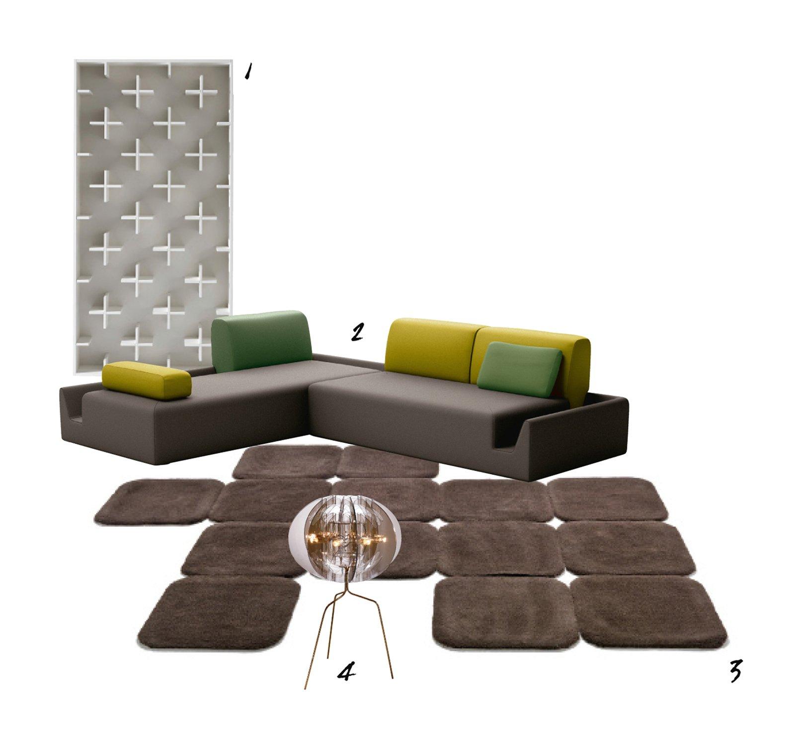 soggiorno & design: passione per i colori scuri - cose di casa - Soggiorno Verde E Marrone 2