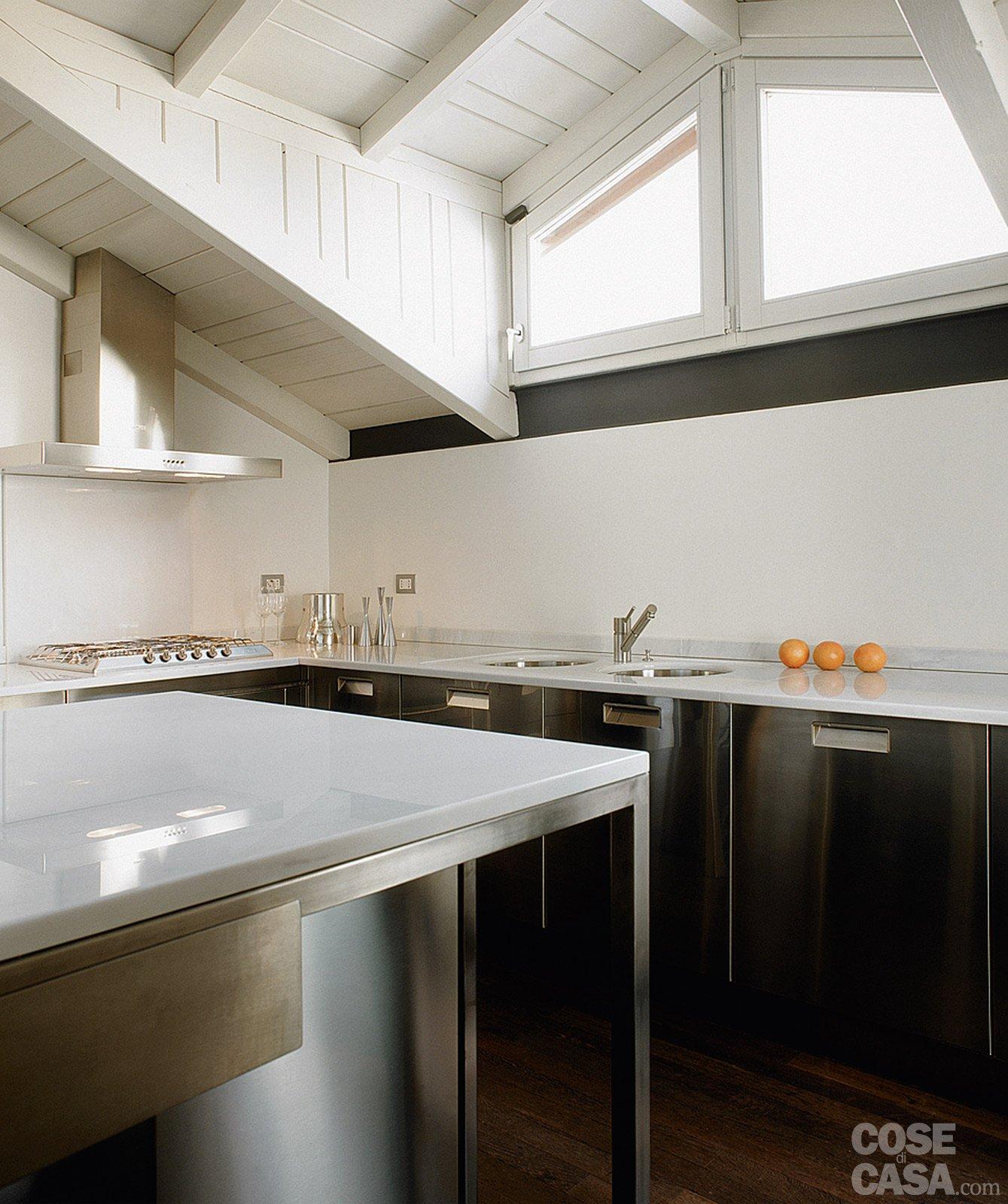 La casa triplica con il recupero del sottotetto cose di casa - Immagini di cucina ...