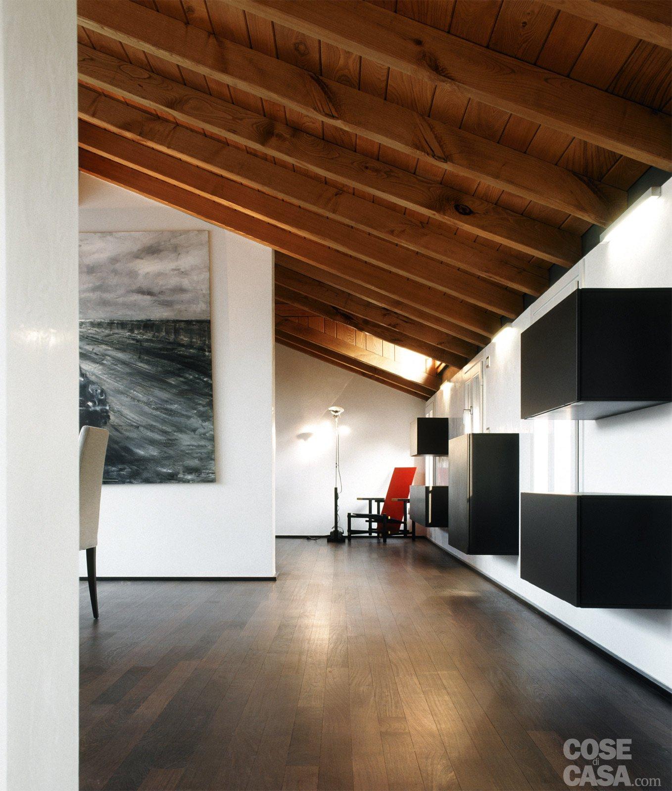 La casa triplica con il recupero del sottotetto cose di casa - Bagno sottotetto ...