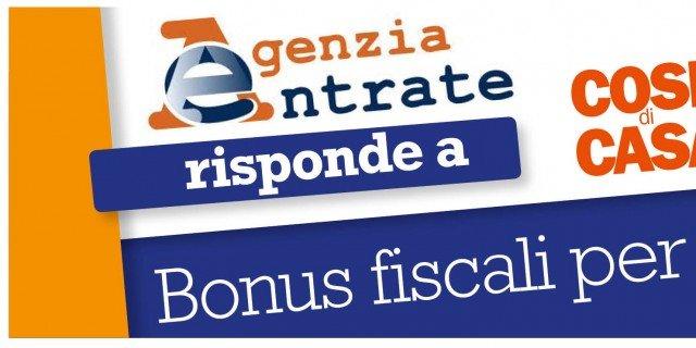 Bonus ristrutturazioni accessibile a tutti l 39 agenzia for Bonus arredi agenzia entrate