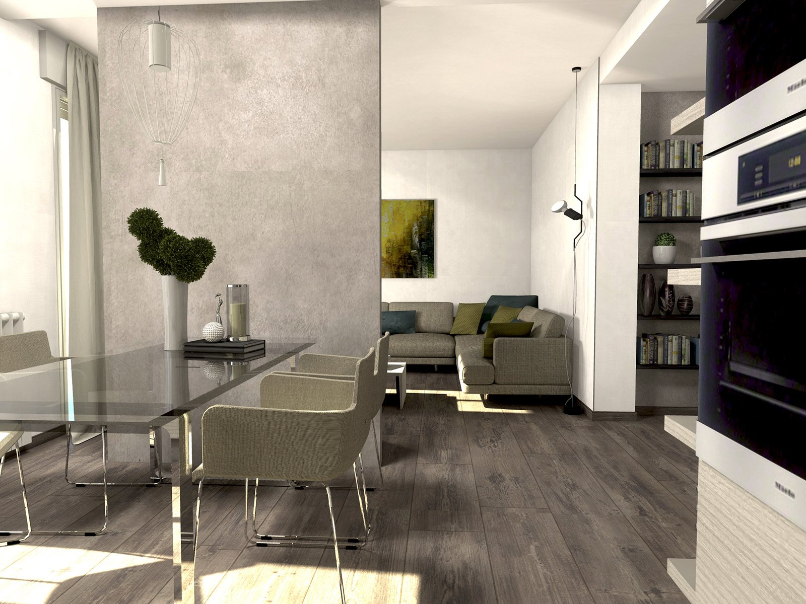 Da casa tradizionale ad abitazione moderna e attuale for Disegni di casa piano aperto