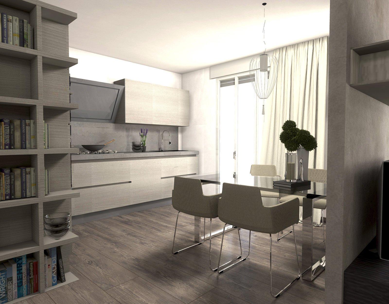 Cartongesso Cucina Soggiorno: Separare cucina e soggiorno con un ...