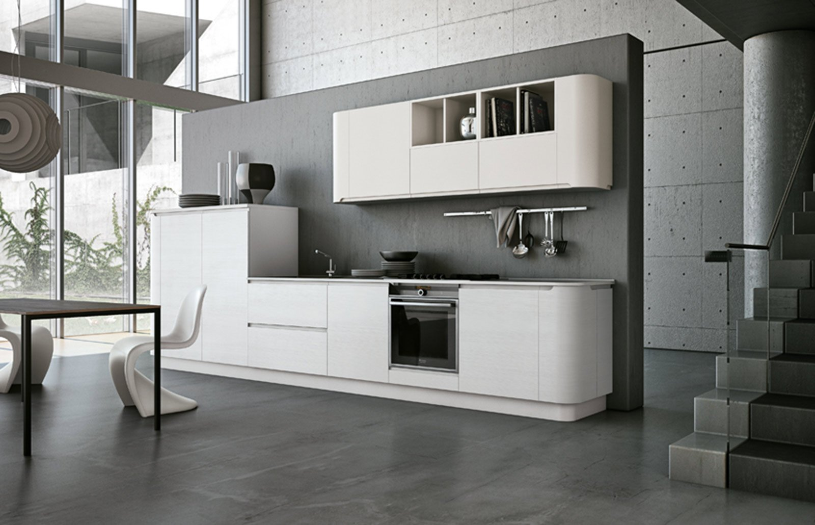 Da Una Personalità Moderna E Brillante La Cucina In Laminato  #58514A 1600 1030 Top Cucina In Laminato Opinioni