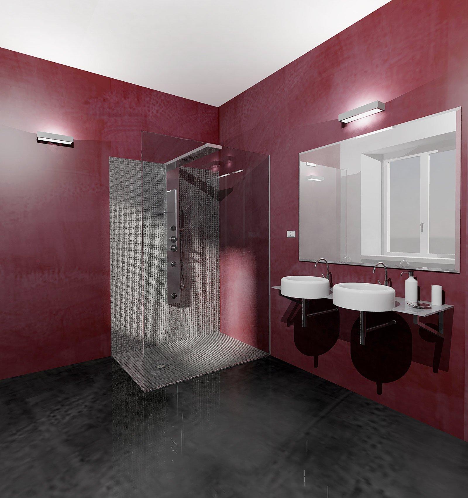 Scegliere i rivestimenti per pareti e pavimenti cose di casa - Pareti bagno senza piastrelle ...