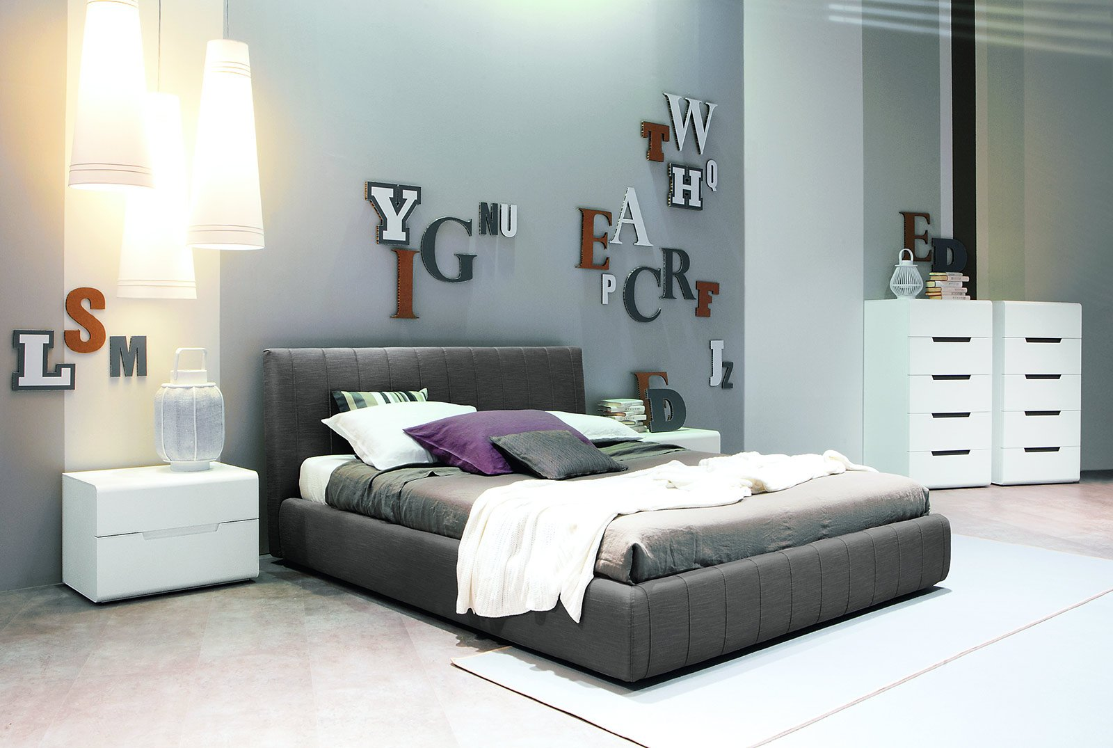 Capitonn letti imbottiti moderni cose di casa for Letti moderni