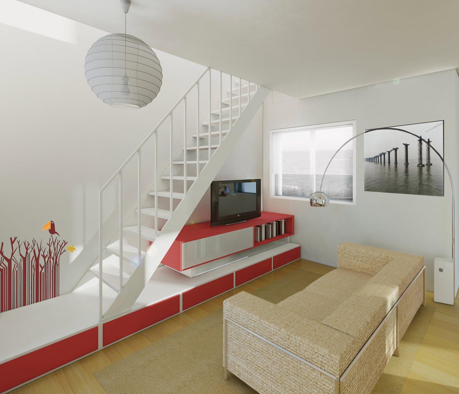 Soggiorno e cucina in poco spazio cose di casa - Cucina in poco spazio ...