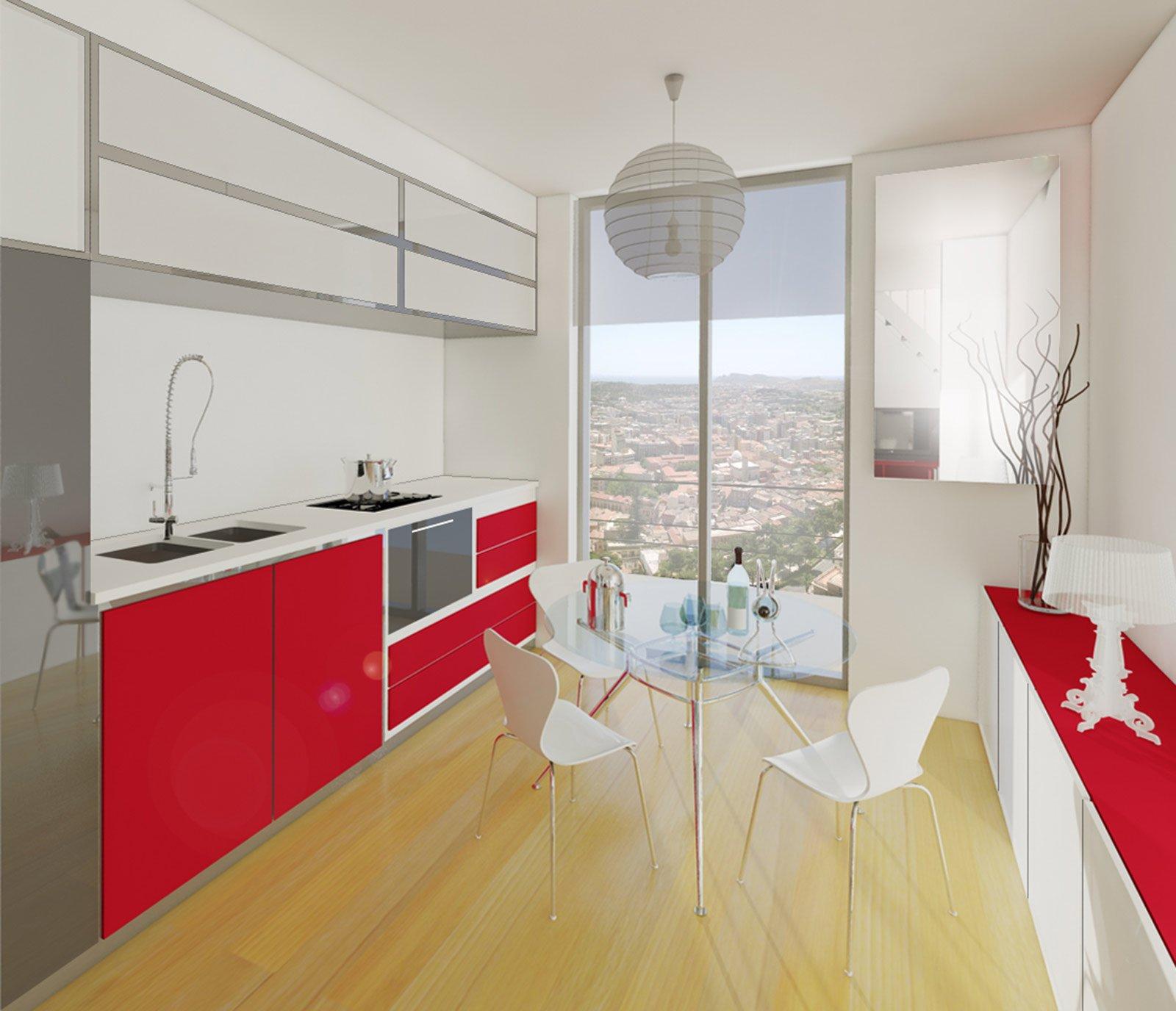 Soggiorno e cucina in poco spazio - Cose di Casa