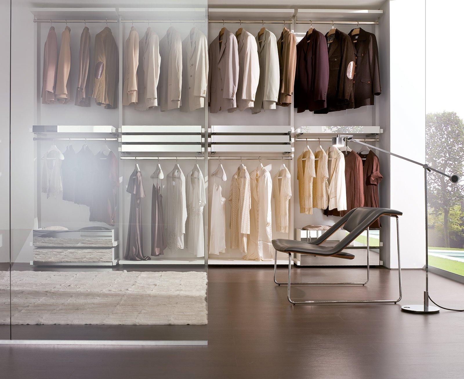 Cabine armadio come su misura cose di casa for Costo per costruire un armadio in una camera da letto