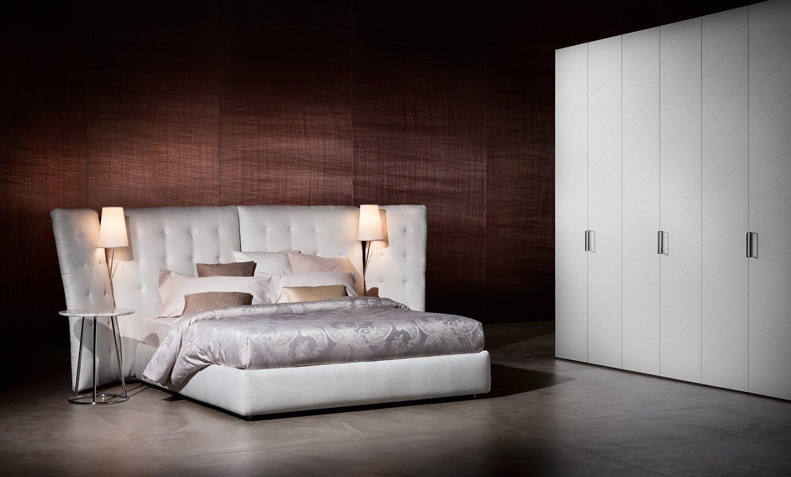 Capitonn letti imbottiti moderni cose di casa - Rivestimento testata letto ...