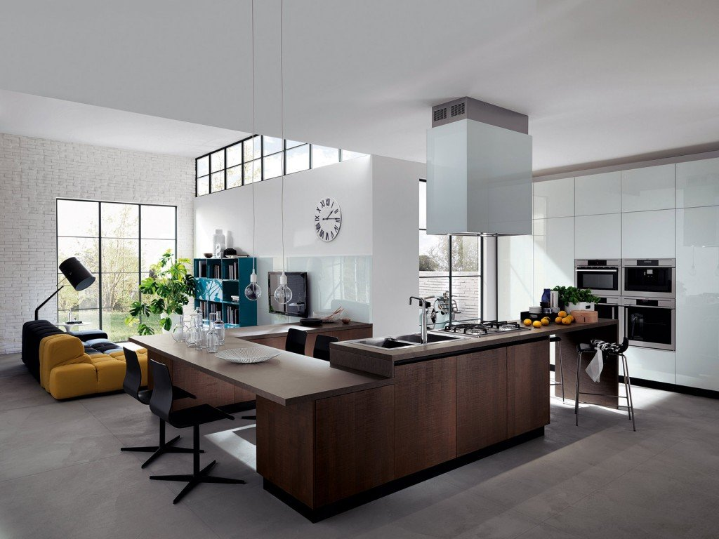 Idee Soggiorno Open Space : Cucina e soggiorno in un open space - Cose ...