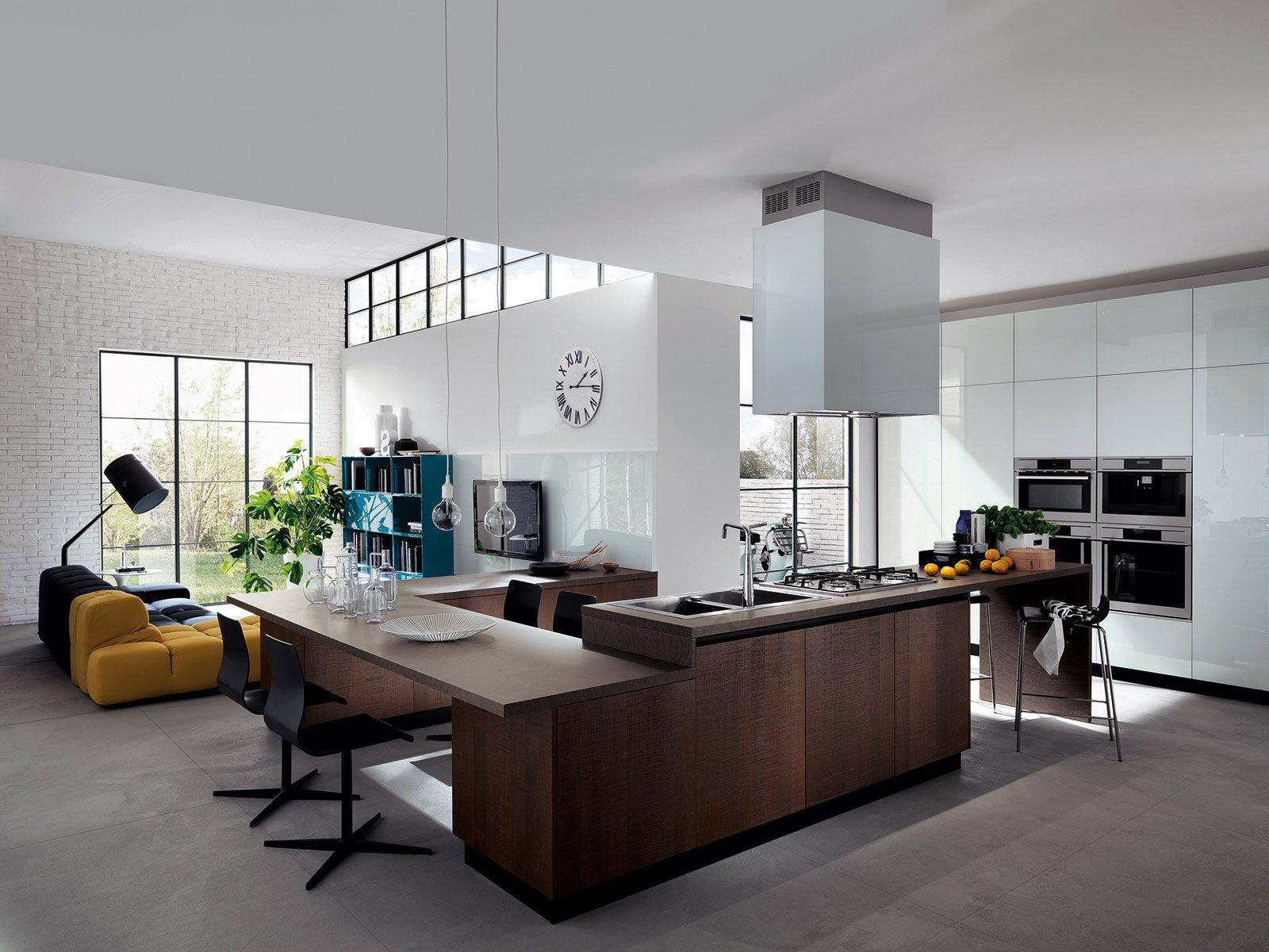 Cucina e soggiorno in un open space - Cose di Casa