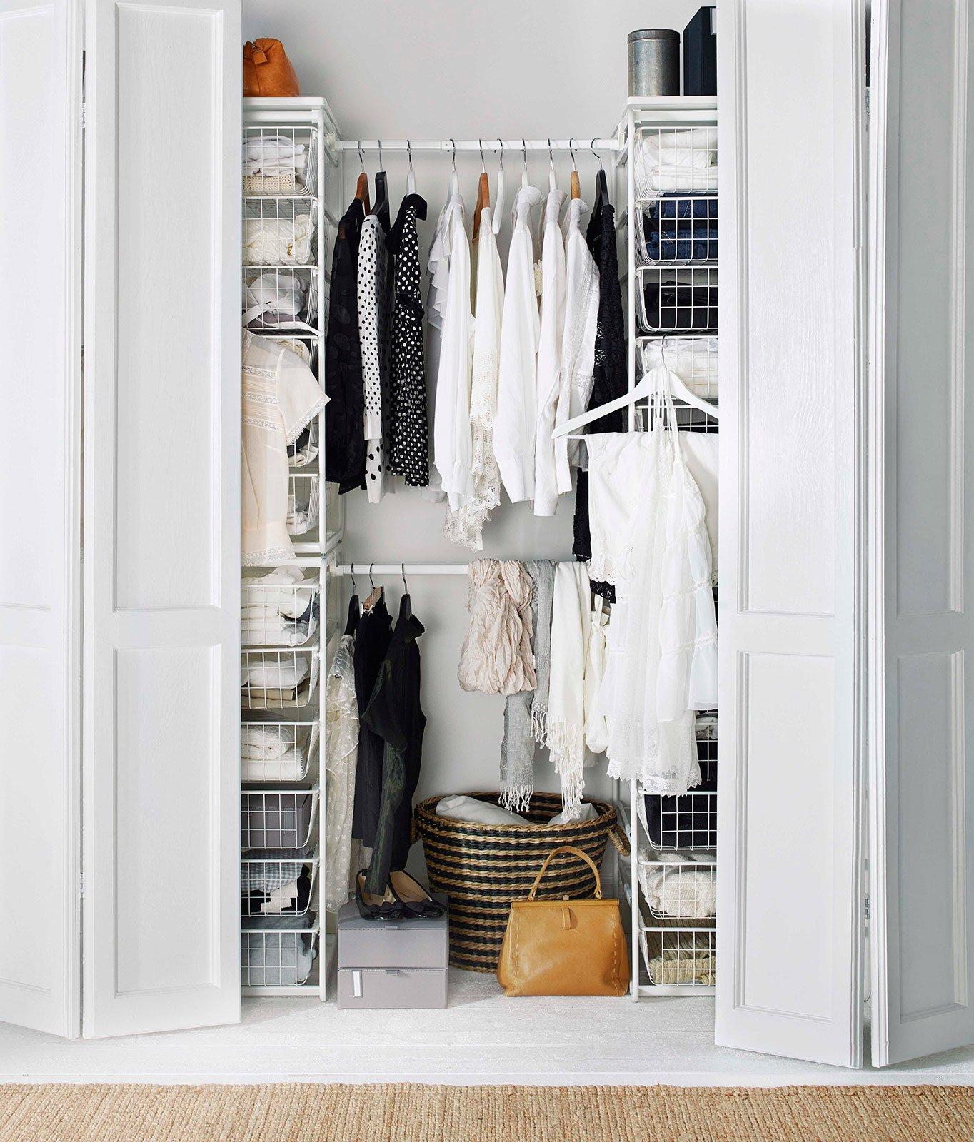 Cabine armadio come su misura cose di casa for Brimnes guardaroba