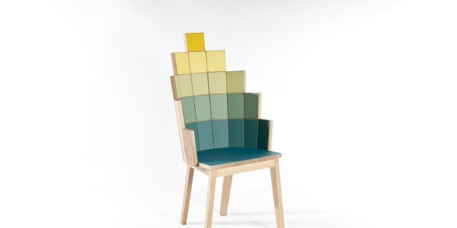 Le sedie dell'Ultima cena di Leonardo, interpretate dai designer