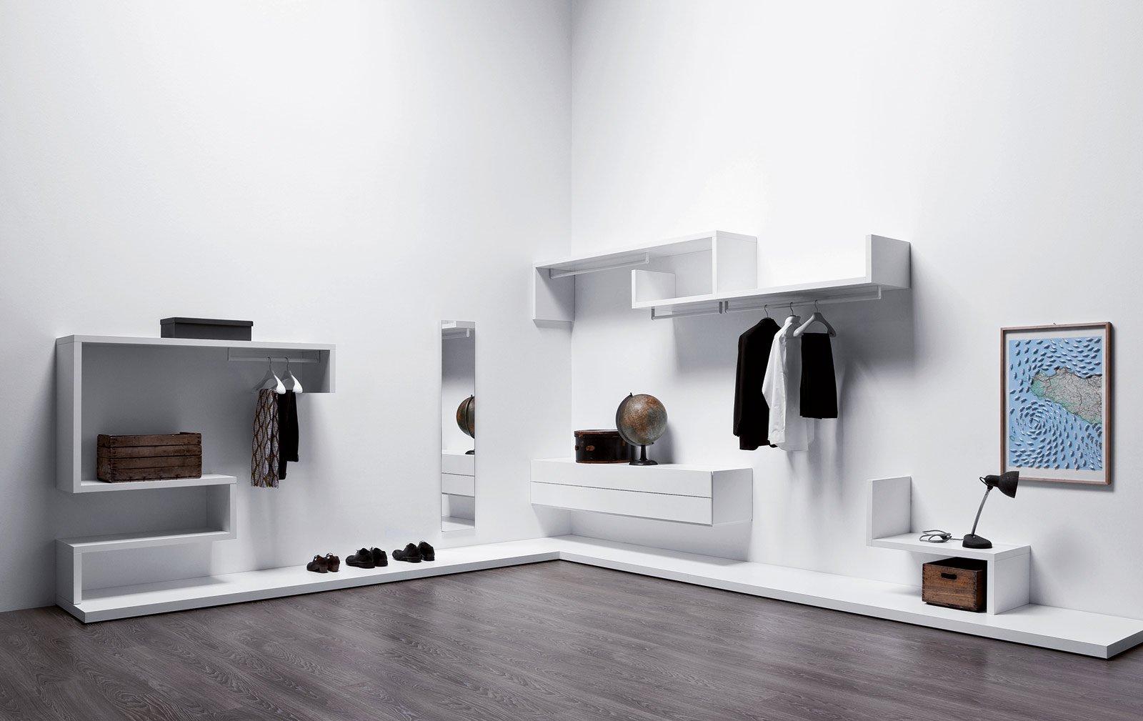 Cabine armadio come su misura cose di casa - Appendiabiti a parete ikea ...