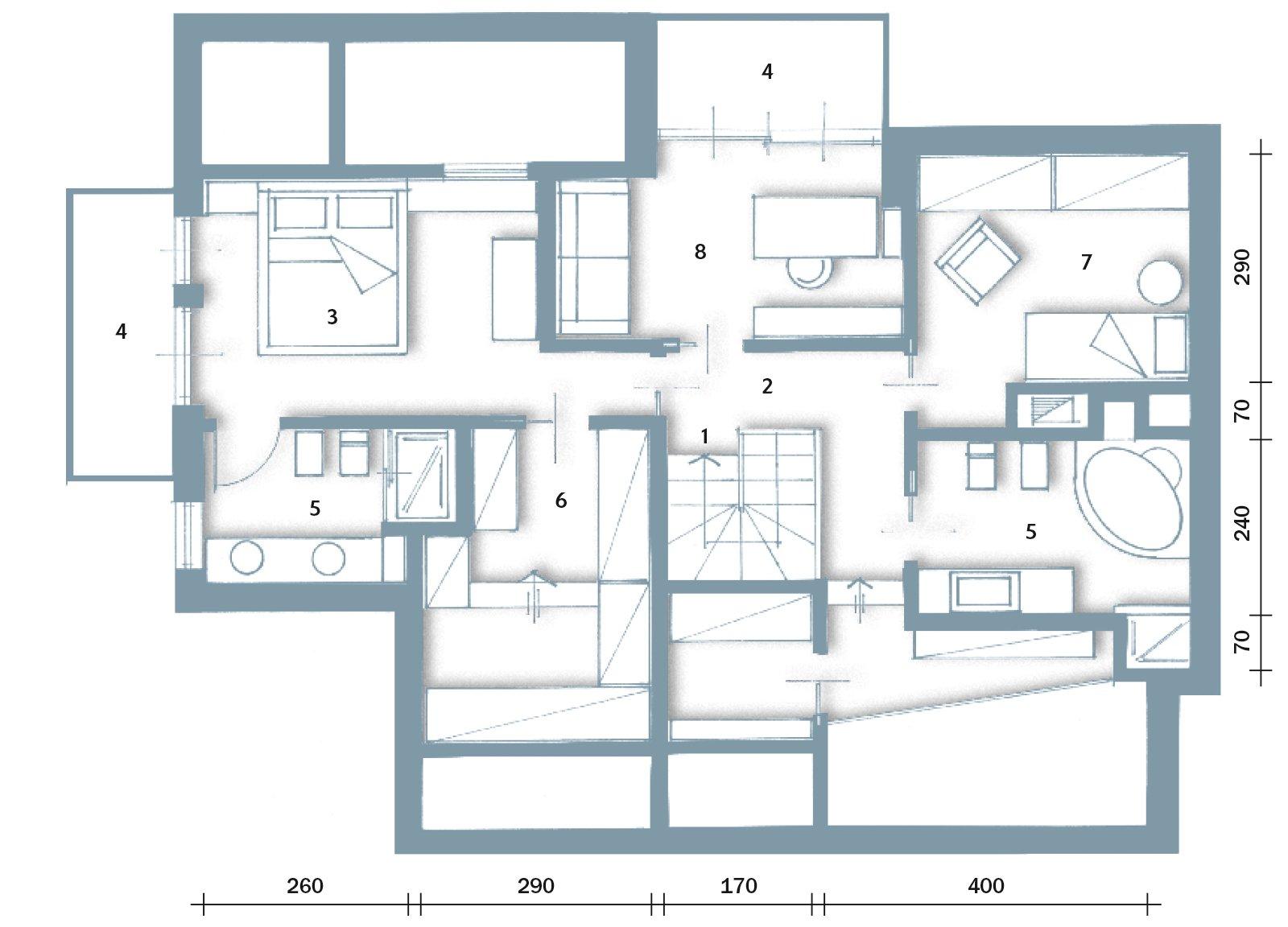 Bianco grigio nero per la casa di gusto contemporaneo for Bellissimi disegni di casa dentro e fuori
