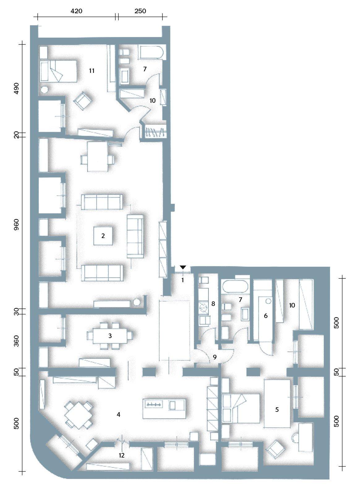 Casabook Immobiliare: Sottotetto: Una Casa Con Travi A Vista #546B77 1135 1600 Sala Da Pranzo 20 Mq