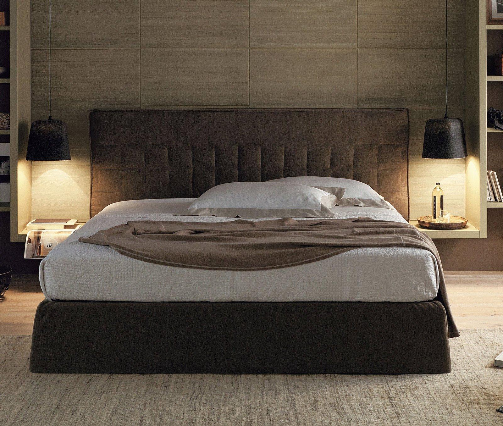 Capitonn letti imbottiti moderni cose di casa - Testata del letto imbottita ...
