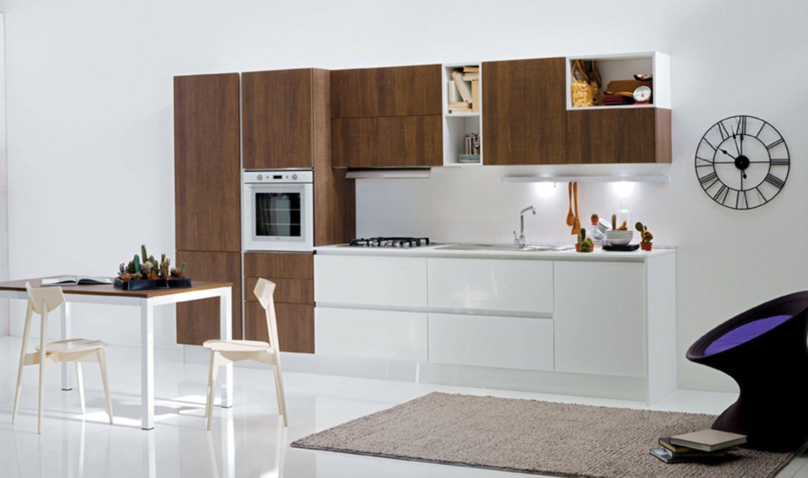 Cucine in laminato cose di casa - Cucina laminato effetto legno ...