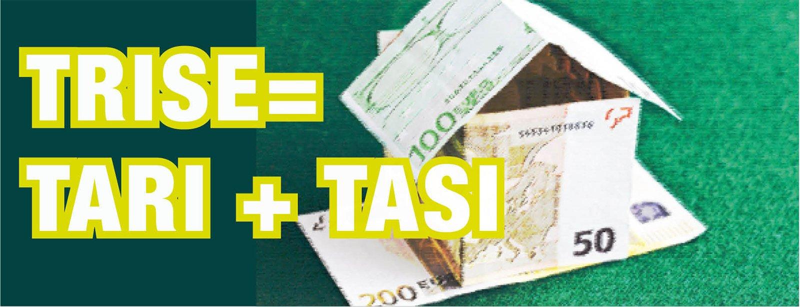 Trise tari e tasi saranno le nuove tasse sulla casa for Tasi e tari
