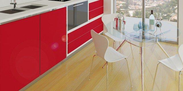 Soggiorno e cucina in poco spazio cose di casa - Divano poco spazio ...