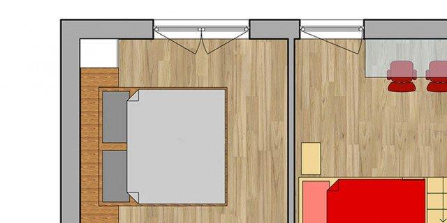 progettare soggiorno e cucina - Cose di Casa