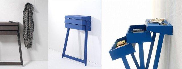 Dedicata ai mini spazi la cassettiera Pivot di Arco è funzionale e perfetta con ogni stile di arredo. Disponibile in 3 colori e nella versione a due cassetti o con ripiano laterale.  Nella versione mini misura 82 x L 29 x H 108 cm. Prezzo 1.165 euro. www.arco.nl
