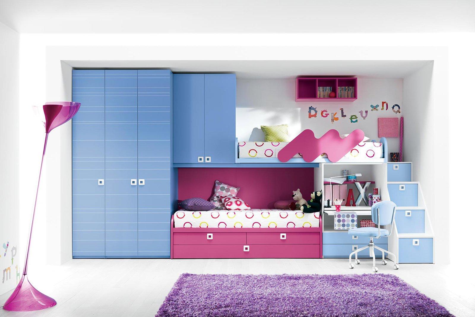 Camerette salvaspazio cose di casa - Idee per camerette piccole ...
