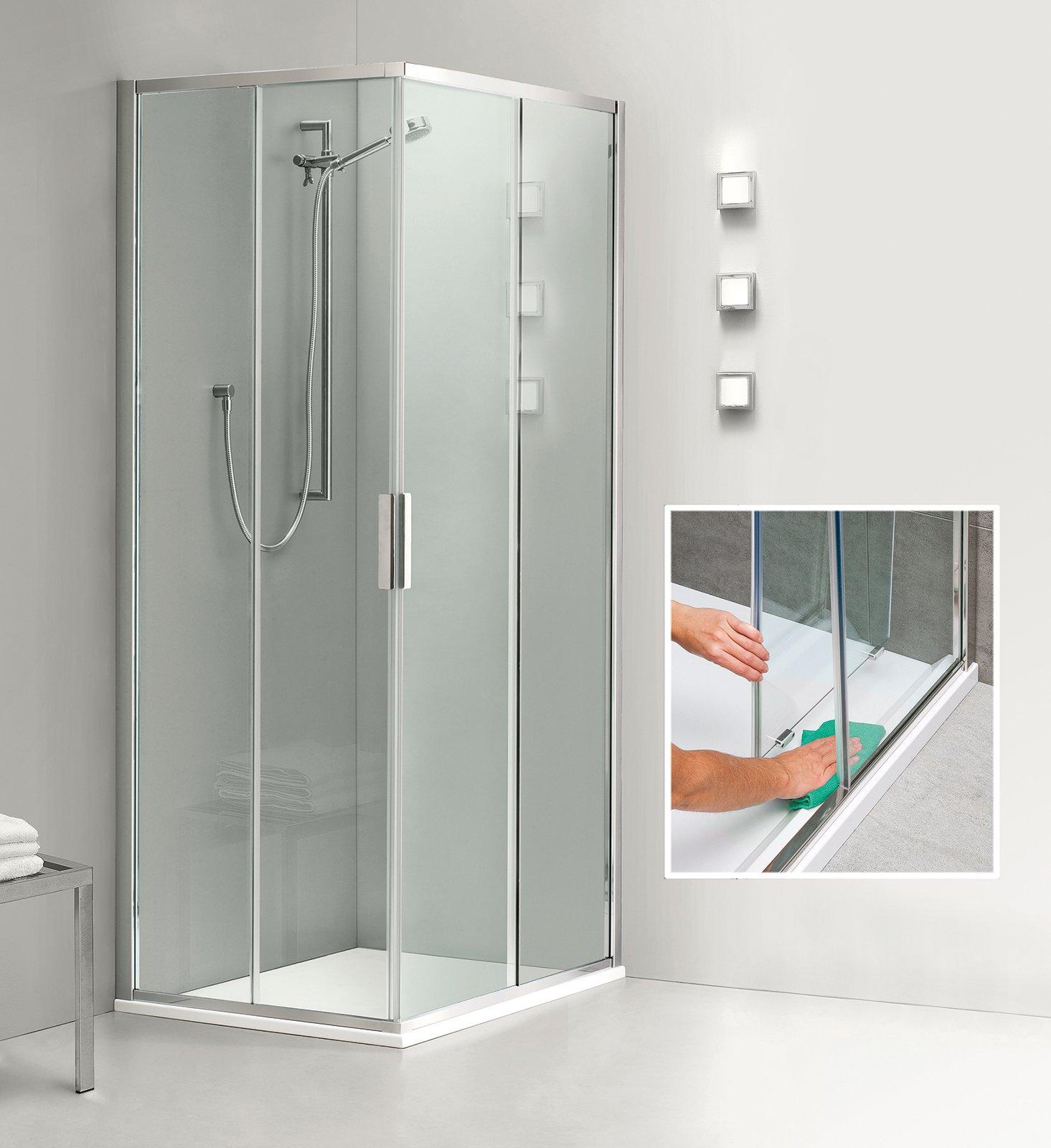Box doccia quale chiusura scegliere cose di casa for Camminare attraverso la doccia alla vasca